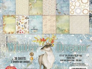 CPB-WDR15 Craft & You Papirblok Winter Dream-0