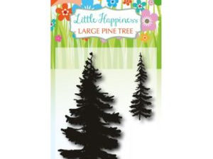 6410/0488 JOY Stempel Clear stamps Little Happiness Pine Tree-0