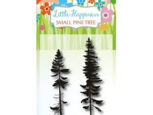 6410/0489 JOY Stempel Clear stamps Little Happiness Small Pine Tree-0