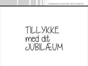 "SBC012 Simple and Basic Stempel ""Dansk Tekst""-0"