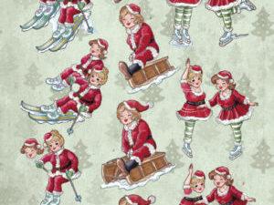 CD11215 Yvonne Design 3D 1 ark Bubbly Girls, Christmas-0