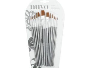 972N Nuvo Nylon Brushes 12 stk.-0