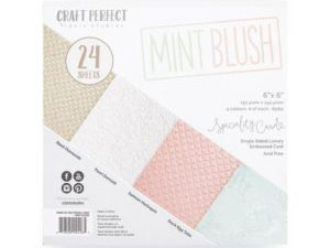 9426E Tonic Studios Craft perfect Speciality Card Pack Mint Blush-0