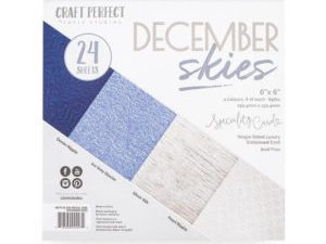 9427E Tonic Studios Craft perfect Speciality Card Pack December Skies-0