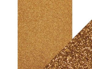 9942E Tonic Studios Craft perfect Glitter Card A4 Welsh Gold-0