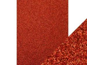 9944E Tonic Studios Craft perfect Glitter Card A4 Ruby Ritz-0