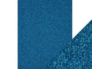 9947E Tonic Studios Craft perfect Glitter Card A4 Midnight Topaz-0