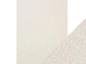 9948E Tonic Studios Craft perfect Glitter Card A4 Sugar Crystal-0