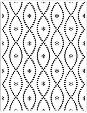 CTFD3113 Crafts-Too Embossingfolder Seamless Circle-0
