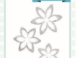 UMS807 Creative Expressions Sue Wilson Stempel, Pinwheel Flower-0