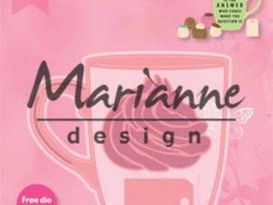 COL1462 Marianne Design Die Collectables Chocolate Mug-0