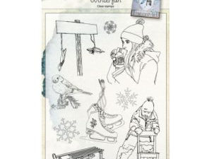 6410/0494 JOY Stempel Clear stamps Winterfun-0