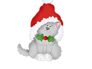 CC-508 Cottage Cutz Die Santa's Hat Cat-0