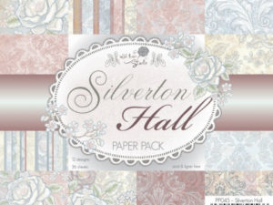 PP045 Wild Rose Papirblok Silverton Hall-0