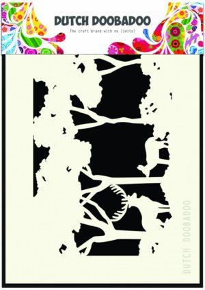 470.715.402 Dutch Doobadoo Mask Stencil A6 Forrest-0