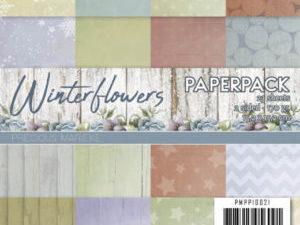 PMPP10021 Precious Marieke Papirsblok Winterflowers-0