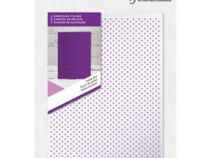GEM-EF5-PDOT Crafters Companion Embossingfolder, Polka Dot-0