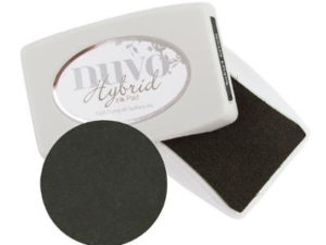 210N Nuvo Hybrid Ink Pad, sort-0