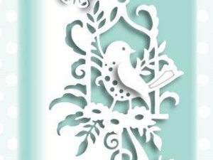 CEDPC1055 Creative Expressions Cathie Shuttleworth Die, Paper Cuts Collection, Bluebird Edger -0