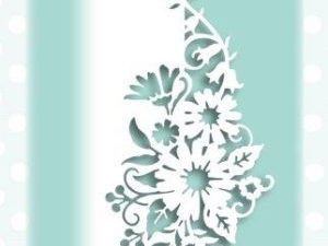CEDPC1059 Creative Expressions Cathie Shuttleworth Die, Paper Cuts Collection, Daisy Edger-0