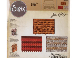 661197 Sizzix Die Tim Holtz Bigz XL Alterations Village Rooftops-0
