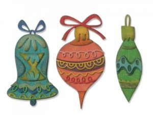 663102 Sizzix Die Tim Holtz Alterations Thinlits Whimsy Décor-0