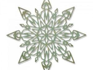663105 Sizzix Die Tim Holtz Alterations Thinlits Flurry #1-0