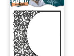 ADD10159 Amy Design Die, Keep It Cool - Ramme med iskrystaller i den ene side -0
