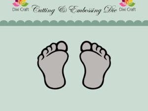 MDL037 Dixi Craft Die, Feets-0
