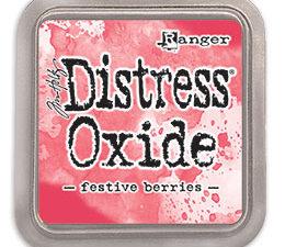 TDO55952 Ranger Tim Holtz Distress Oxide Festive Berries-0