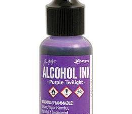 TAB25511 Ranger Tim Holtz Alcohol Ink, Purple Twillight-0