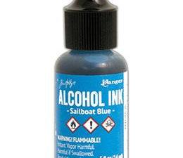 TAB25535 Ranger Tim Holtz Alcohol Ink, Sailboat Blue-0