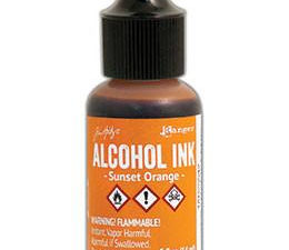 TAB25542 Ranger Tim Holtz Alcohol Ink, Sunset Orange-0