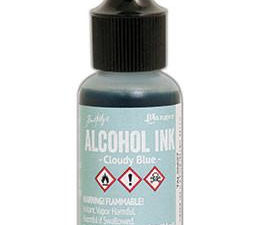 TAL25627 Ranger Tim Holtz Alcohol Ink, Cloudy Blue-0