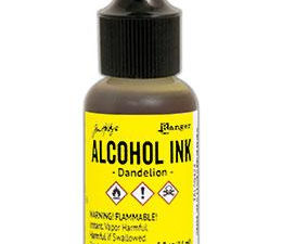 TAB25559 Ranger Tim Holtz Alcohol Ink, Sunshine Yellow-0
