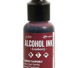 TIM21995 Ranger Tim Holtz Alcohol Ink, Cranberry-0