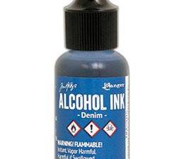 TIM22015 Ranger Tim Holtz Alcohol Ink, Denim-0