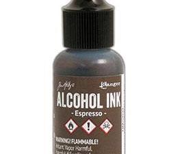 TIM22039 Ranger Tim Holtz Alcohol Ink, Espresso-0