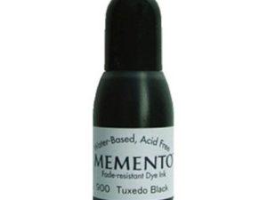 23900 Memento Re-Inker Tuxedo Black-0