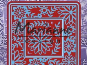 LR0577 Marianne Design Die, Flower Frame Square-0