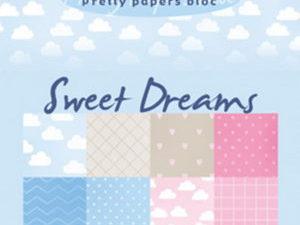 PB7055 Marianne Design Papirblok A5 Eline's Sweet Dreams-0