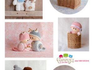 VK9574 Marianne Design 3D 1 ark Ilse's Funny's – Baby-0