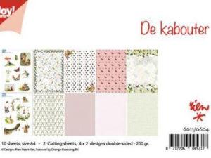 6011/0604 JOY Papirsblok A4 Gnome -0