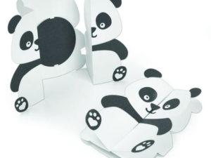 663574 Sizzix Die Tim Holtz Thinlits, Panda Fold-a-Long-0