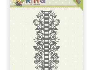 PM10147 Precious Marieke Die Happy spring, Ribbon Border-0