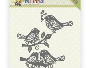 PM10150 Precious Marieke Die Happy spring, Spring Birds-0