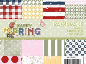 PMPP10022 Precious Marieke Papirsblok Happy Spring-0