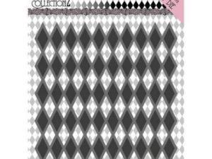 YCD10161 Yvonne Creations Die Pretty Pierrot 2 - Diamond Pattern-0