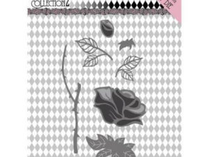 YCD10163 Yvonne Creations Die Pretty Pierrot 2 - Rose-0