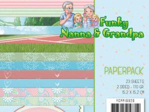 YCPP10020 Yvonne Design Papirblok Funky Nanna & Grandpa-0